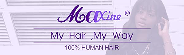 Maxine hair water wave bundles with frontal 360