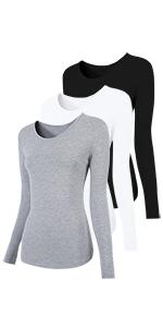 7b426d9ff79 Womens Crew Neck Short Sleeve Tee Tops Cotton T-Shirts · H HIAMIGOS Women's  T-Shirt V Neck 100% Cotton · Womens Scoop Neck Short Sleeve Tee Tops Cotton  ...