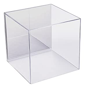 Acrylic Wall Display Case with 3 Shelves 10/% to Charity