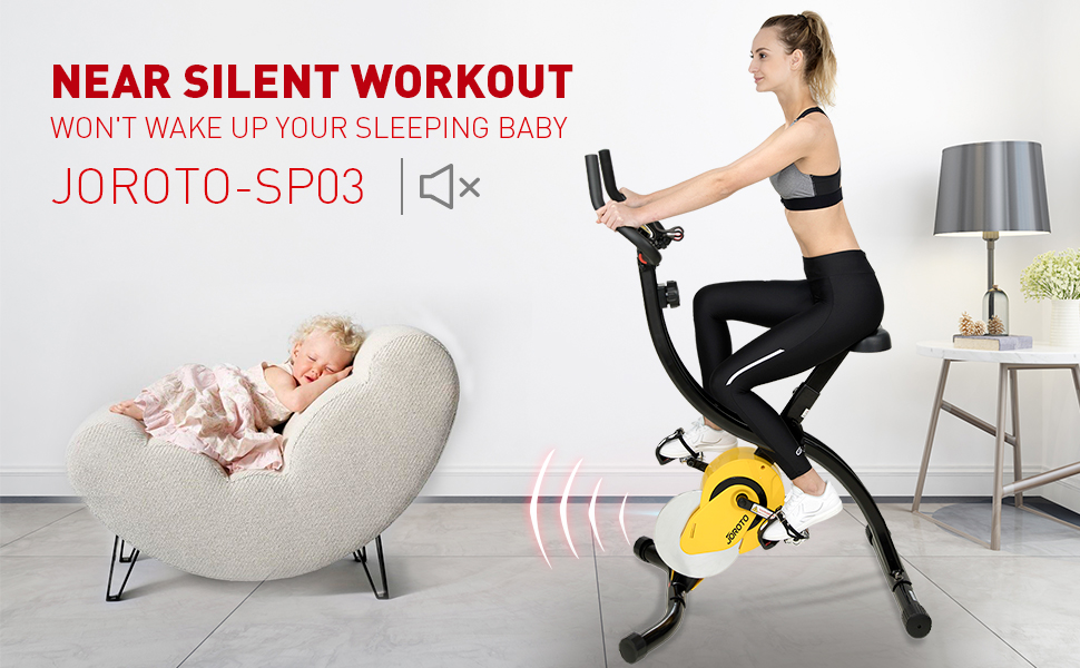 magnetic exercise bike
