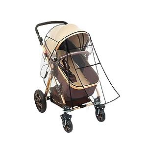 Amazon.com: cubierta de la lluvia carriola Universal – bebé ...