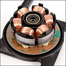 Three-phase motor design