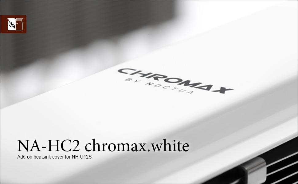 NA-HC2 chromax.white heatsink cover