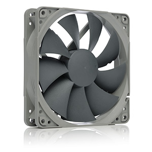Noctua NF-P12 redux-900, 3-Pin, Ultra Quiet Fan with 900RPM (120mm, Grey)