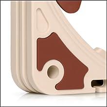 Integrated anti-vibration pads