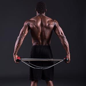 Isometric Strength Training Home Gym Back Exercise