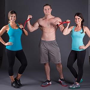 Isometric Strength Training Portable Home Fitness Exercise Equipment