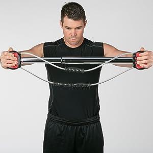Chest Expander Strength Training Home Gym