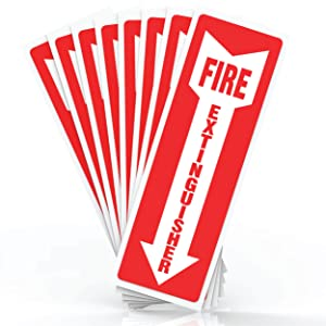 Fire Extinguisher Sign Stickers