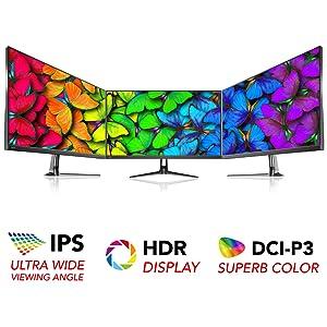 خرید Pixio PX275h 27 inch 95Hz IPS DCI-P3 95% HDR WQHD 2560