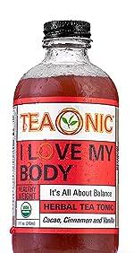 Teaonic Herbal Tea I Love My Body Healthy Weight