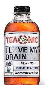Teaonic Herbal Tea I Love My brain