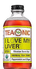 Teaonic Herbal Tea I Love My Liver Detox