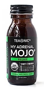 Teaonic My Adrenal Mojo Tea Herbal Wellness Shot