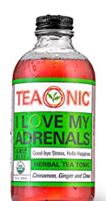 Teaonic Herbal Tea I Love My Adrenals