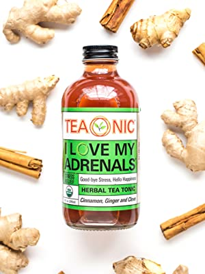 Teaonic Herbal Tea I Love My Adrenals Stress Relief