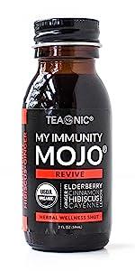 My Immunity Mojo Revive Teaonic Herbal Tea Wellness Shot