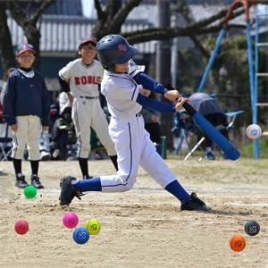 MG MACRO GIANT TEE BALL T-BALL BASEBALL PU FOAM SAFE SPORTS KIDS