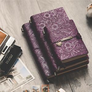 Amazon.com: Diario de cuero rellenable con bolsillo vintage ...
