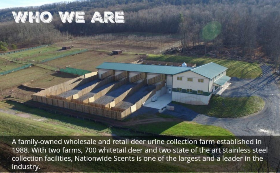 nationwide scents whitetail deer farm