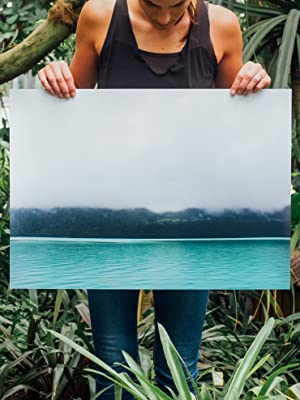 water lake canvas