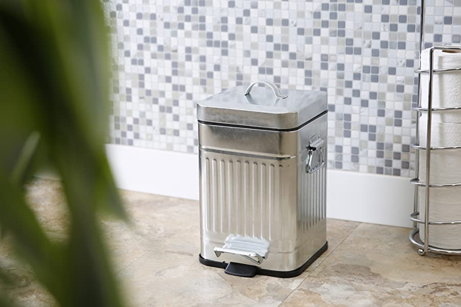 Amazon Com Bino Stainless Steel 1 3 Gallon 5 Liter Square