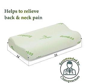 sleepy folks orthopedic pillow for neck u0026 back pain