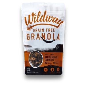 Wildway Vanilla Bean Espresso Paleo, Gluten-free, Grain-free Granola