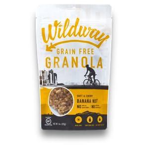 Wildway Banana Nut Grain-free, Gluten-free, Paleo Granola