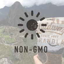 Non-GMO healthy snacks