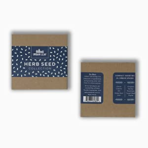 Herb Seed Starter Kit Giftable Packaging