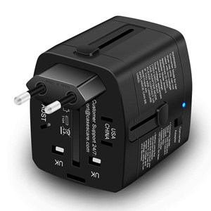 voltage converters 2000w european us israel uk 220 110 plug 220-110 outlet volt 2000 watts