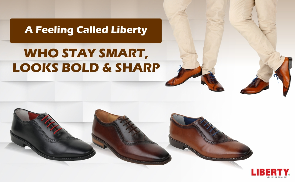 083ff8db3 Liberty Footwear, a company with the design savvy, technological prowess  and state-of-the-art infrastructural back up to constantly push back the  frontiers ...