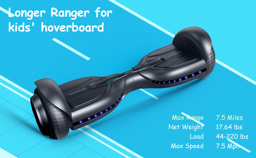 Amazon.com: Hoverboard w/Bluetooth y luces LED, UL2272 ...