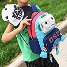 removable safety harness leash design backpack kindergarten book lunch bag toddler backpack boy girl