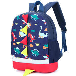 cute zoo animal dragon dinosaur cartoon toddler backpack preschool book bag boy girl kid children