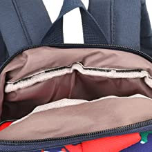 blue bear animal zoo cartoon hippo raccoon toddler backpack kid book bag daycare rucksack preschool