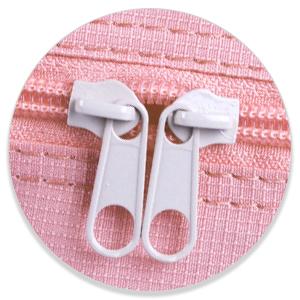 double zippers