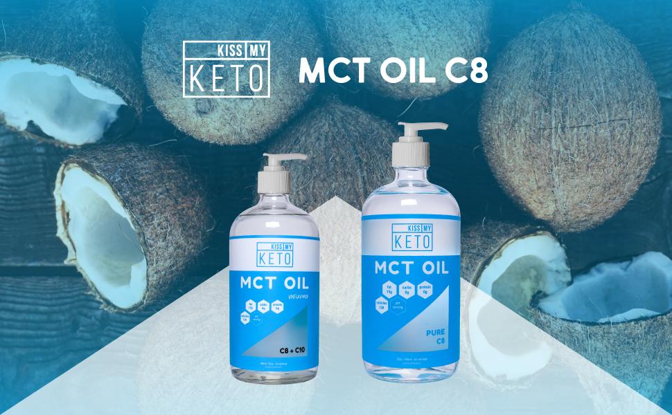 Amazon Com Kiss My Keto C8 Mct Oil Pure Mct Oil C8 Brain Fuel 32
