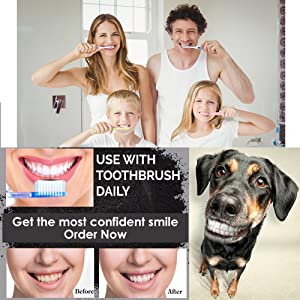 activated teeth whitening powder