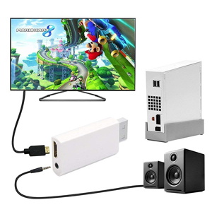Amazon Com Wii To Hdmi Converter Output Video Audio