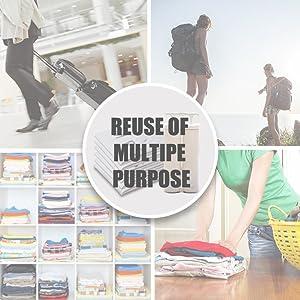 travel luggage home organization storage vacuum bag space saver