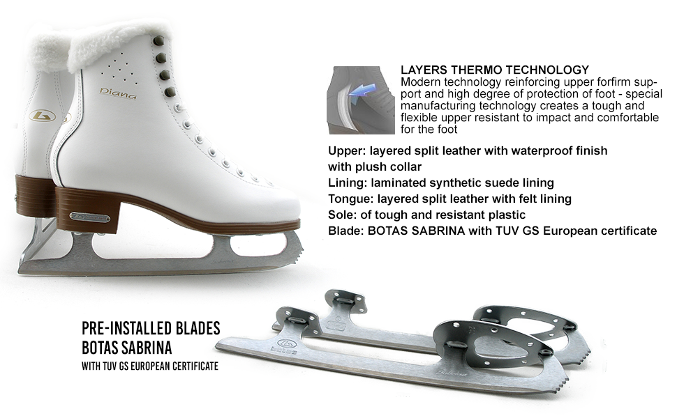 Ice Skates Features