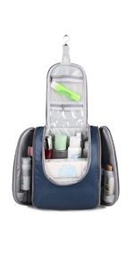 722d76b199fa Hanging Travel Toiletry Kit Travel Essentials Organizer For Men   Women ·  Hanging Toiletry Bag Travel Kit Travel Essentials Organizer for Men and  Women ...