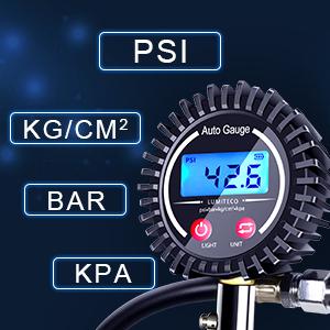 tire gauge measurements
