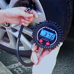 tire gauge operation