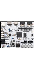 Arty Z7-20 xilinx artix zynq-7000 APSoC System on chip digilent FPGA fully programmable gate array
