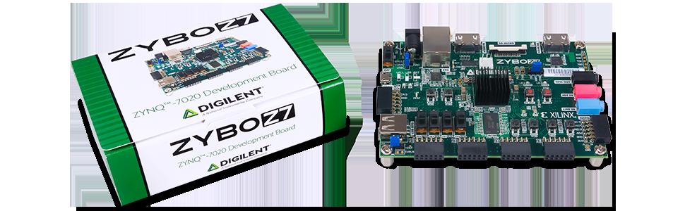 Digilent Zybo Z7: Zynq-7000 ARM/FPGA SoC Development Board (Zybo Z7-20 with  SDSoC Voucher)