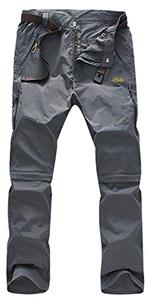 Convertible pants for men