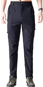 Stretch hiking pants for men